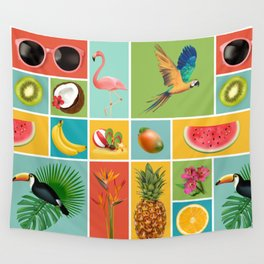 Summer Panopticum Wall Tapestry