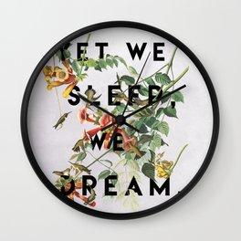 Midsummer's Night Wall Clock