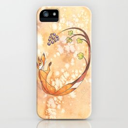 Aesop's Fables - The Fox and the Grapes iPhone Case