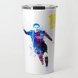 Sports art _ Barcelona Travel Mug