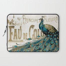 Peacock Jewels Laptop Sleeve