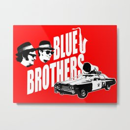 The blues brothers 2 Metal Print
