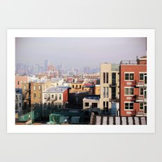 Brooklyn, New York Art Print