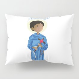 St.Benedict of Palermo Pillow Sham