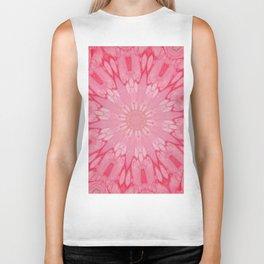 Fluid Nature - Blossoming Pink Biker Tank