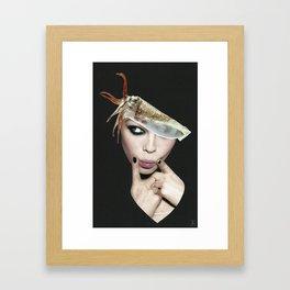 Let's Cuttle Framed Art Print