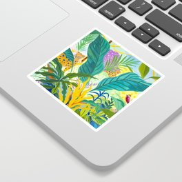 Paradise Jungle Sticker
