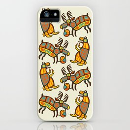 Moose & Bear iPhone Case