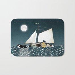 Sailing Buddies Bath Mat