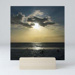 E ala mai o loko i ke kuhohonu o ke Aloha Kamaole Beach Mini Art Print