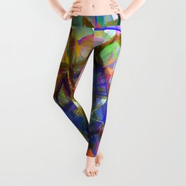 Abstract 9206 Leggings