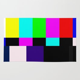 No Signal TV Rug