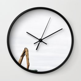 La contamination 4 Wall Clock