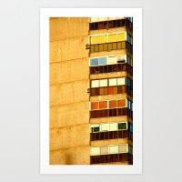 building Art Prints featuring Building by Rivière