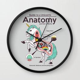 Anatomy of a Unicorn Wall Clock