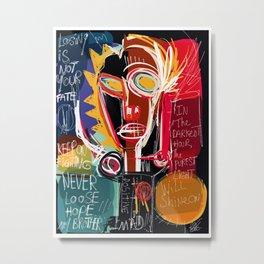 Loosing is not your fate street art digital painting Metal Print