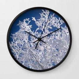 snow fingers Wall Clock