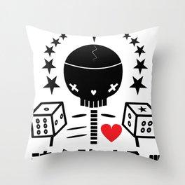 SOUL COLLECTOR - EP. SKELZERO Throw Pillow