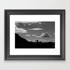 The Lonely Cloud Framed Art Print