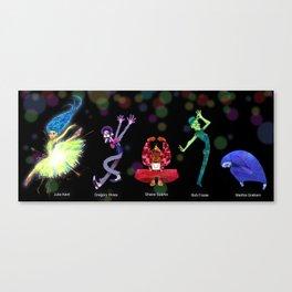 Inside Dance Out Canvas Print