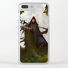 Scavenger Heroes series - 8 Clear iPhone Case