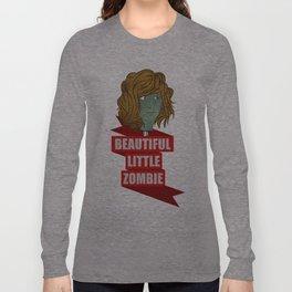beautiful little zombie Long Sleeve T-shirt