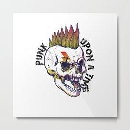 Punk upon a time Metal Print