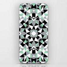 Abstract Kaleidoscope Mint iPhone & iPod Skin
