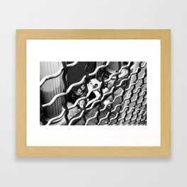 TRUE LOVE. Framed Art Print