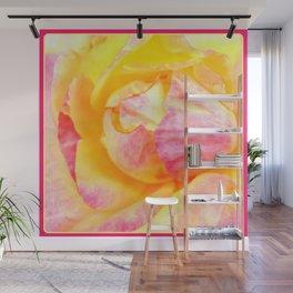 Tropical Rose   Flowers   Nadia Bonello Wall Mural