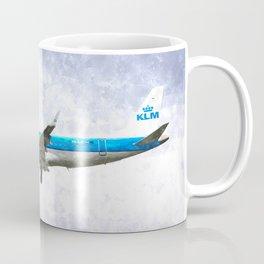 KlM Embraer 190 Art Coffee Mug