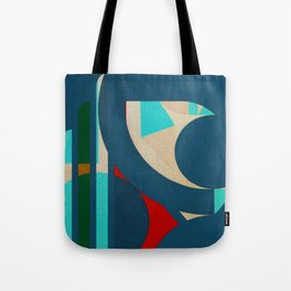 A Lion in the Moonlight Tote Bag