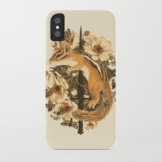 Rites of Moth & Bloom iPhone X Slim Case
