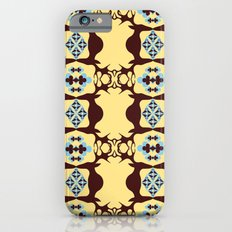 Deer Poker Theme Pattern iPhone 6s Slim Case