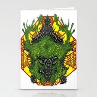 venom Stationery Cards featuring Venom by Bryan Yentz