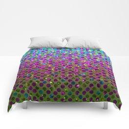 Polka Dot Sparkley Jewels G377 Comforters