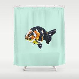Ranchu goldfish Shower Curtain