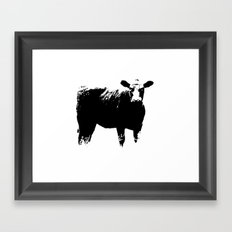 Calf No. 1 Framed Art Print