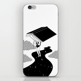 Reading saves lives iPhone Skin