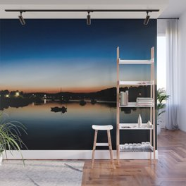Lonely Boat Wall Mural