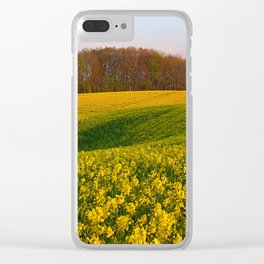 Blooming in yellow 8 Clear iPhone Case