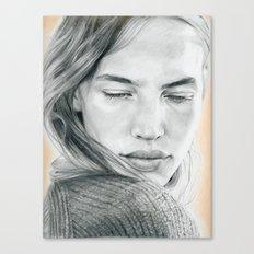 Peach Dreams Canvas Print