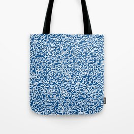 Faux Loop Band Water Camo Tote Bag