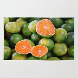 Green Mandarines Rug