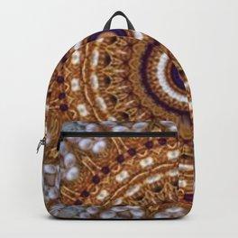 Mandala Pearls Art Backpack