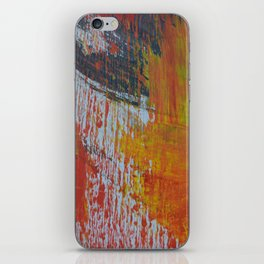 Abstract Paint Swipes iPhone Skin