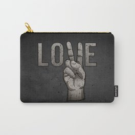 Peace Love Carry-All Pouch