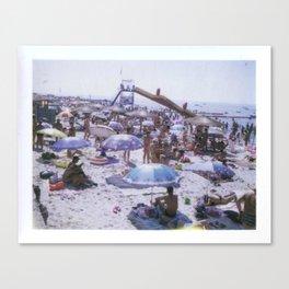 The Beach No. 03 Canvas Print