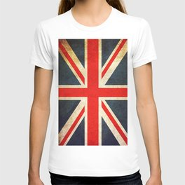Vintage Union Jack British Flag T-shirt