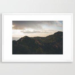 Runyon Canyon Framed Art Print